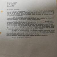 Letter from López Vallecillos to Claribel Alegría, 13 October 1969