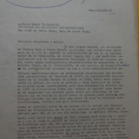 Letter from Abel Cuenca to López Vallecillos, 22 March 1975